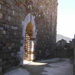 Porta d'ingresso alla Rocca, Scarlino, Grosseto. Author and Copyright Marco Ramerini
