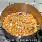 Battuto per il sugo di carne per le Zucchine Ripiene. Autore e Copyright Marco Ramerini