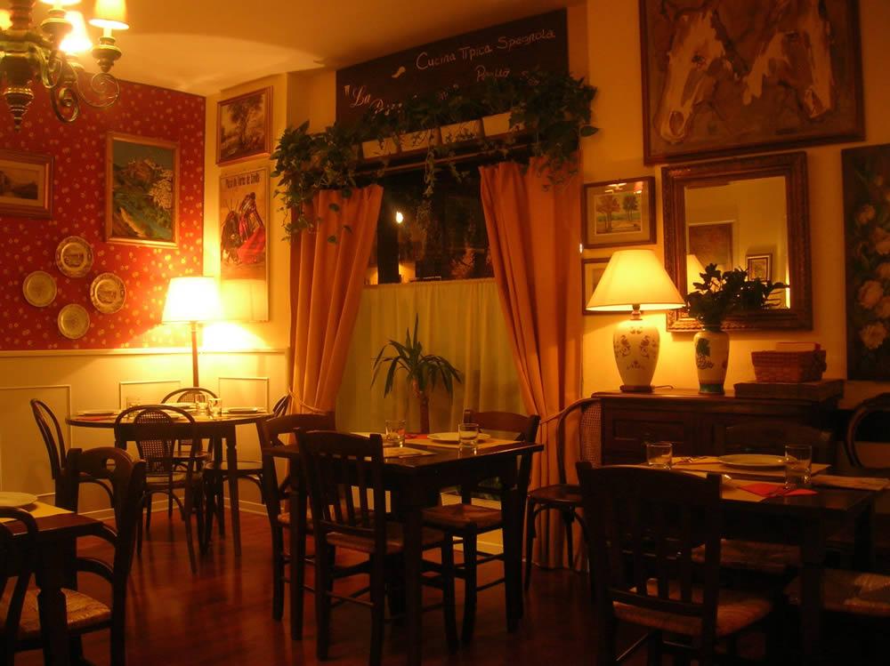 Restaurante español La Posta, Poggibonsi, Siena