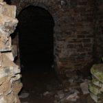 Una stanza sotterranea del Castello di Cepparello, Barberino val d'Elsa, Firenze. Autore e Copyright Marco Ramerini