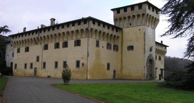 Villa di Cafaggiolo, Barberino del Mugello. Autore e Copyright Marco Ramerini