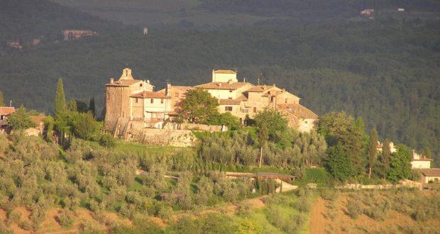 Tignano, Barberino Val D'Elsa. Autore e Copyright Marco Ramerini.