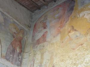 Fresques, Monastère de Santa Maria del Carmine al Morrocco, Tavarnelle Val di Pesa, Florence. Auteur et Copyright Marco Ramerini