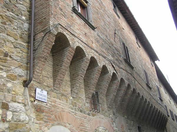 Barberino Val d'Elsa, Firenze. Author and Copyright Marco Ramerini