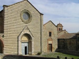 Chiesa di San Francesco, Lucignano, Arezzo. Autore e Copyright Marco Ramerini