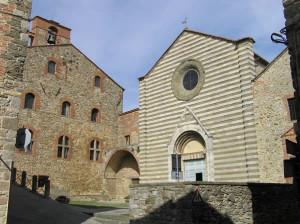 Kirche San Francesco, Lucignano, Arezzo. Autor und Copyright Marco Ramerini.