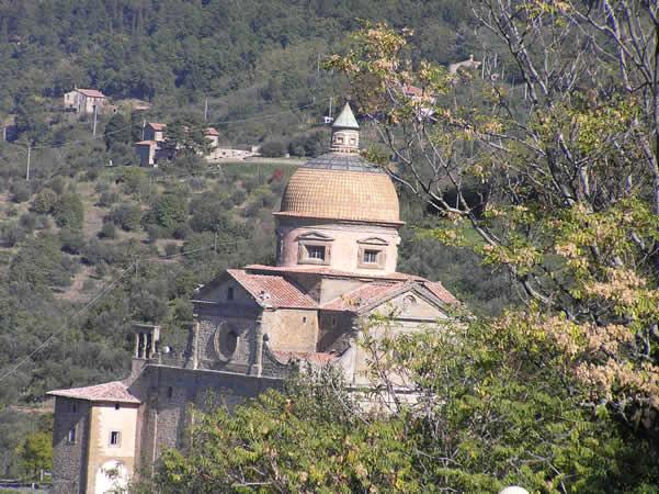 Iglesia de Santa Maria Nuova, Cortona, Arezzo. Autor y Copyright Marco Ramerini