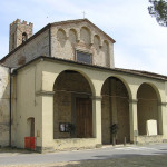 Chiesa di Santo Stefano a Campoli, San Casciano in Val di Pesa. Author and Copyright Marco Ramerini