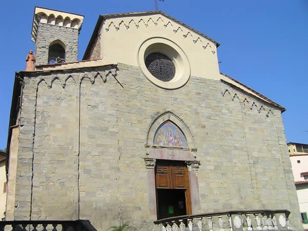 Church of Ss. Stefano and Niccolao, Pescia, Pistoia. Author and Copyright Marco Ramerini