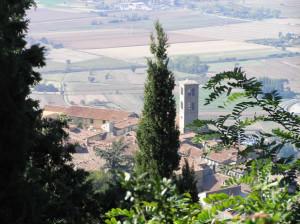 Cortona, Arezzo. Autore e Copyright Marco Ramerini.