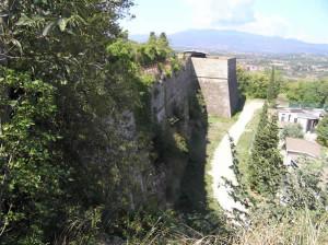 Fortezza Medicea, Arezzo. Autore e Copyright Marco Ramerini