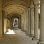I portici di Poppi, Arezzo. Autore e Copyright Marco Ramerini