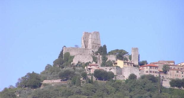 La Rocca di Civitella Val di Chiana, Arezzo. Autore e Copyright Marco Ramerini