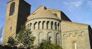 L'abside della Pieve di Gropina, Loro Ciuffenna, Arezzo. Autore e Copyright Marco Ramerini