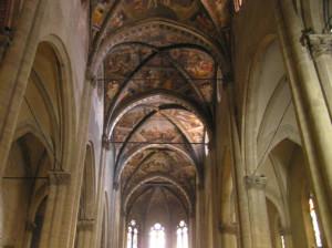 L'interno del Duomo, Arezzo. Autore e Copyright Marco Ramerini