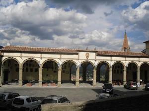 Logge del Vasari, Castiglion Fiorentino, Arezzo. Autore PMM. No Copyright