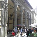 Loggia dei Mercanti, Monte San Savino, Arezzo. Autore e Copyright Marco Ramerini