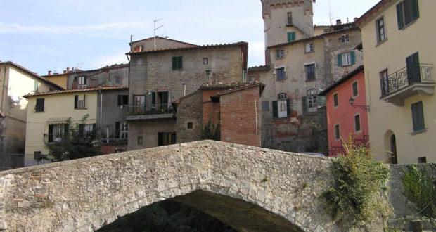 Loro Ciuffenna, Arezzo. Autore e Copyright Marco Ramerini....