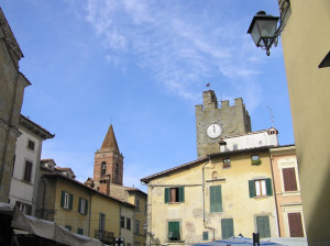 Monte San Savino, Arezzo. Autore e Copyright Marco Ramerini.
