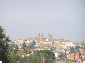 Monte San Savino, Arezzo. Autore e Copyright Marco Ramerini..