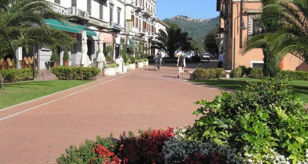 Montecatini Terme, Pistoia. Autore e Copyright Marco Ramerini.