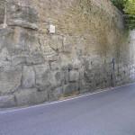 Mura Etrusche, Cortona, Arezzo. Autore e Copyright Marco Ramerini