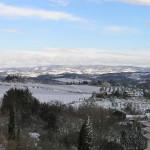 Nevada en Chianti, Barberino Val d'Elsa, Florencia. Autor y Copyright Marco Ramerini