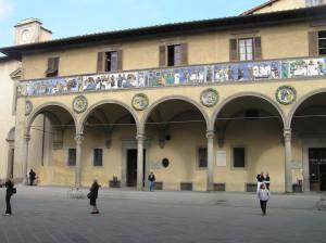 Ospedale del Ceppo, Pistoia. Autore e Copyright Marco Ramerini