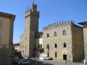 Palazzo Comunale, Arezzo. Autore e Copyright Marco Ramerini