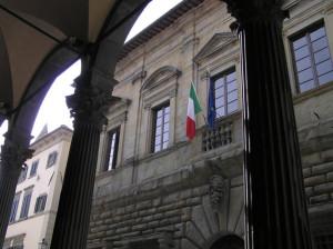 Palazzo Comunale, Monte San Savino, Arezzo. Autore e Copyright Marco Ramerini