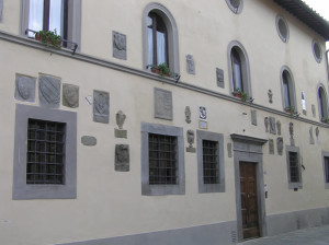 Palazzo Pretorio, Barberino Val d'Elsa, Firenze. Author and Copyright Marco Ramerini