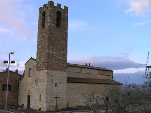 Pieve di San Donato, San Donato in Poggio, Tavarnelle Val di Pesa, Florence. Auteur et Copyright Marco Ramerini