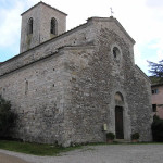 Pieve di San Giusto in Salcio, Gaiole in Chianti, Siena. Author and Copyright Marco Ramerini