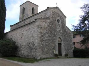 Pieve di San Giusto in Salcio, Gaiole in Chianti, Siena. Author and Copyright Marco Ramerini