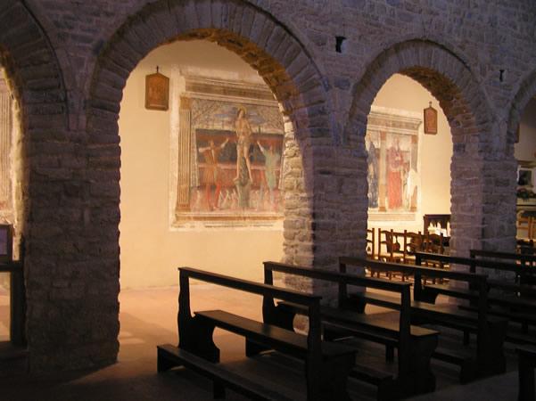 Pieve di Sant'Appiano, Barberino Val d'Elsa, Firenze. Autore e Copyright Marco Ramerini.
