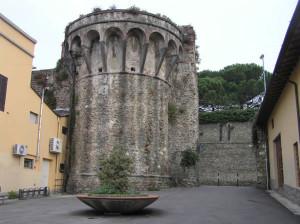 Resti delle mura, Pistoia. Autore e Copyright Marco Ramerini