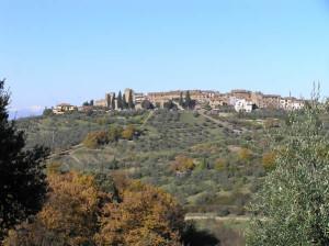 San Donato in Poggio, Tavarnelle Val di Pesa, Firenze. Author and Copyright Marco Ramerini