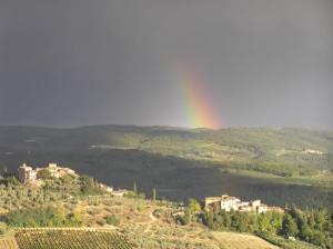 Tignano, Barberino Val d'Elsa. Autore e Copyright Marco Ramerini