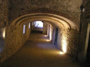 Via delle Volte, Castellina in Chianti, Siena. Author and Copyright Marco Ramerini