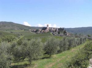 Badia a Passignano, Tavarnelle Val di Pesa, Florence. Auteur et Copyright Marco Ramerini