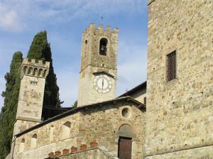 Badia a Passignano, Tavarnelle Val di Pesa, Firenze. Author and Copyright Marco Ramerini.