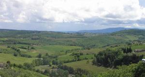 Chianti in primavera, Barberino Val d'Elsa, Firenze. Autore e Copyright Marco Ramerini.
