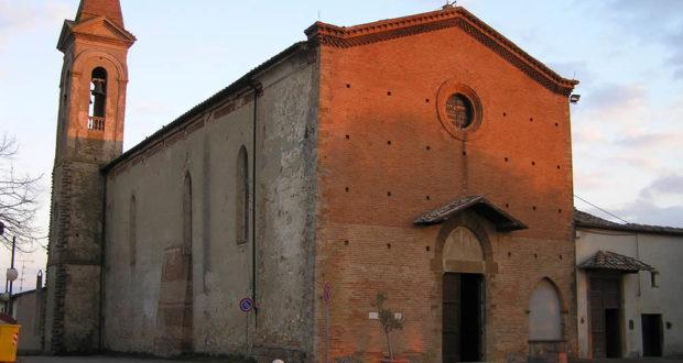 Chiesa di Santa Lucia al Borghetto, Tavarnelle Val di Pesa, Firenze. Author and Copyright Marco Ramerini