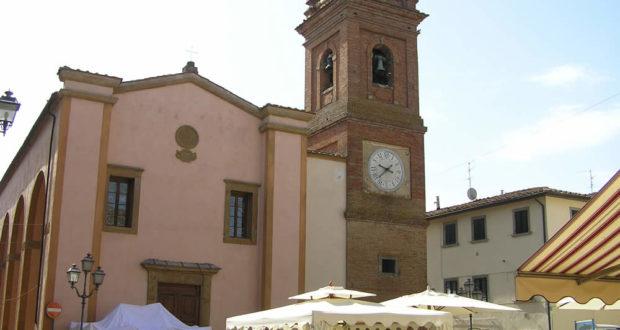 La chiesa di San Regolo, Montaione. Author and Copyright Marco Ramerini