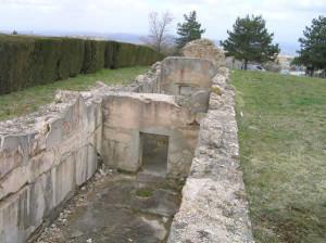 La cisterna Romana, Montaione. Author and Copyright Marco Ramerini