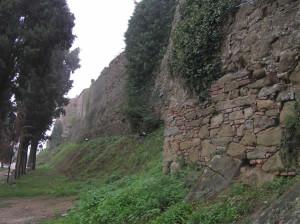 Le mura di Malmantile, Malmantile. Author and Copyright Marco Ramerini