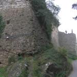 Le mura di Malmantile verso Porta Pisana, Malmantile. Author and Copyright Marco Ramerini