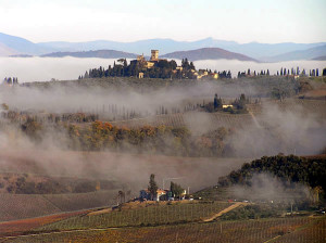 Paesaggio nei dintorni di Montespertoli, Firenze. Author and Copyright Marco Ramerini