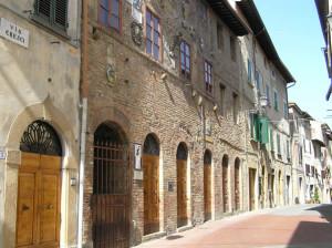 Palazzo Pretorio, Montaione. Author and Copyright Marco Ramerini