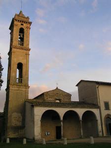 Pieve di San Piero in Bossolo, Tavarnelle Val di Pesa, Firenze. Author and Copyright Marco Ramerini